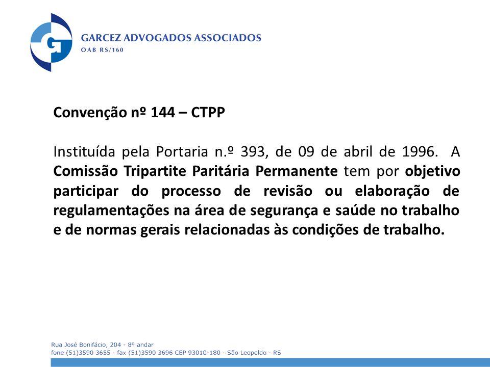Convenção nº 144 – CTPP