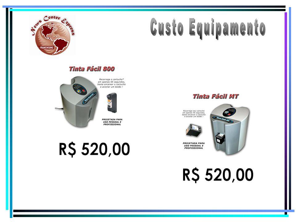 Custo Equipamento R$ 520,00 R$ 520,00