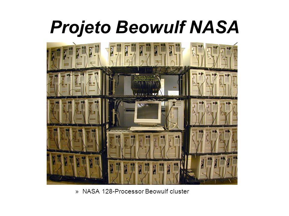 Projeto Beowulf NASA NASA 128-Processor Beowulf cluster