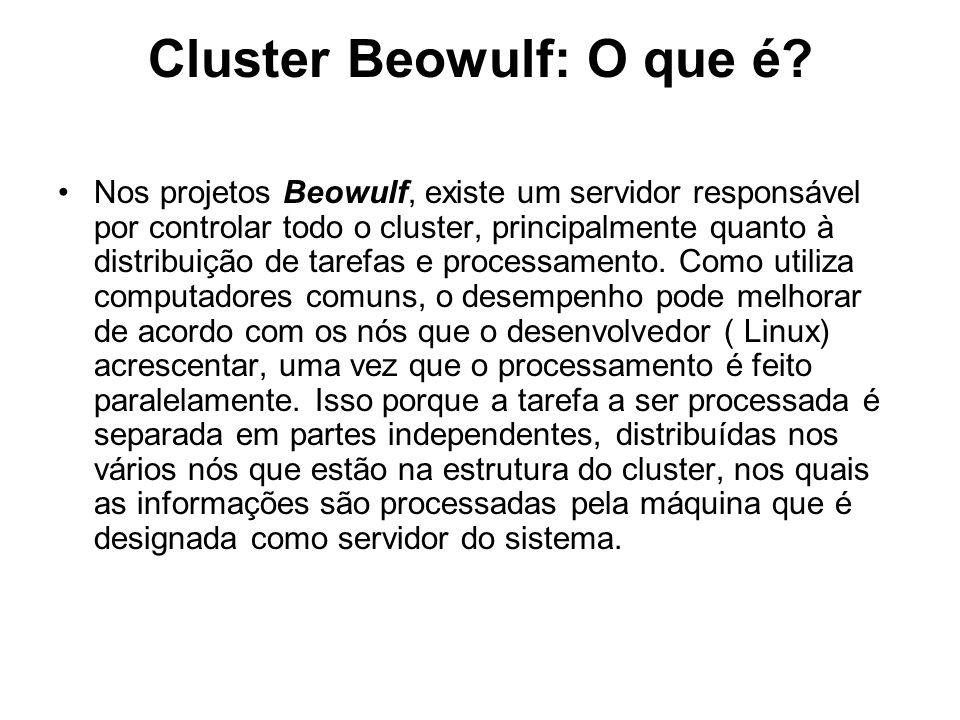 Cluster Beowulf: O que é