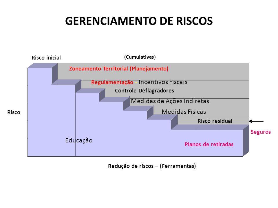GERENCIAMENTO DE RISCOS