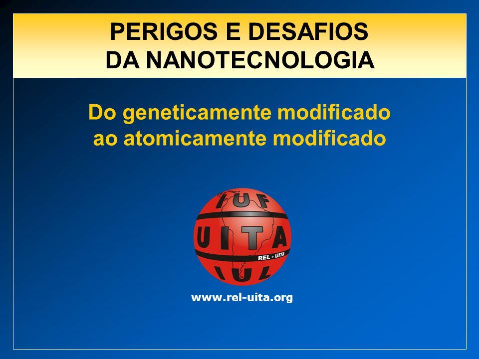 PERIGOS E DESAFIOS DA NANOTECNOLOGIA