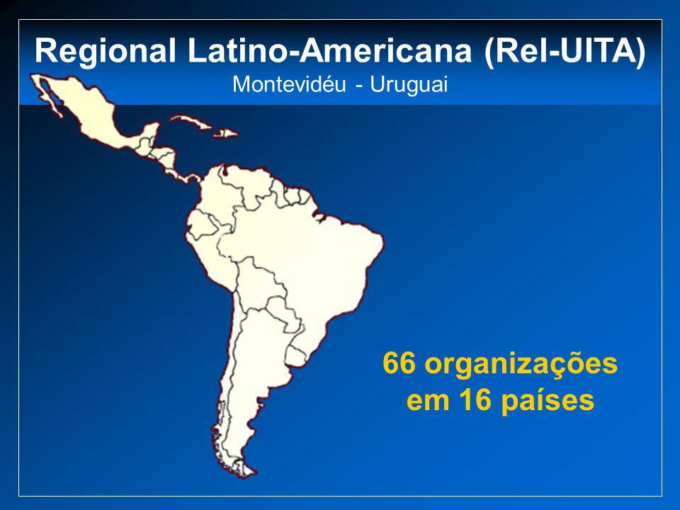 Regional Latino-Americana (Rel-UITA) 66 organizações em 16 países