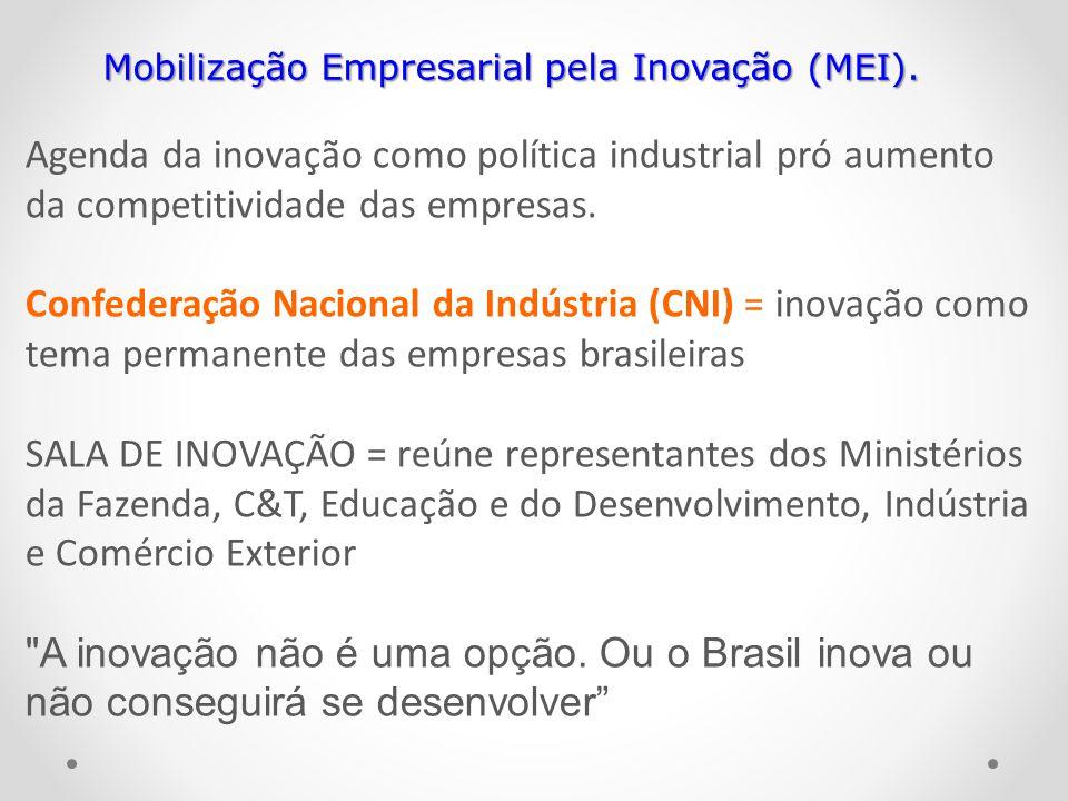 Mobilização Empresarial pela Inovação (MEI).