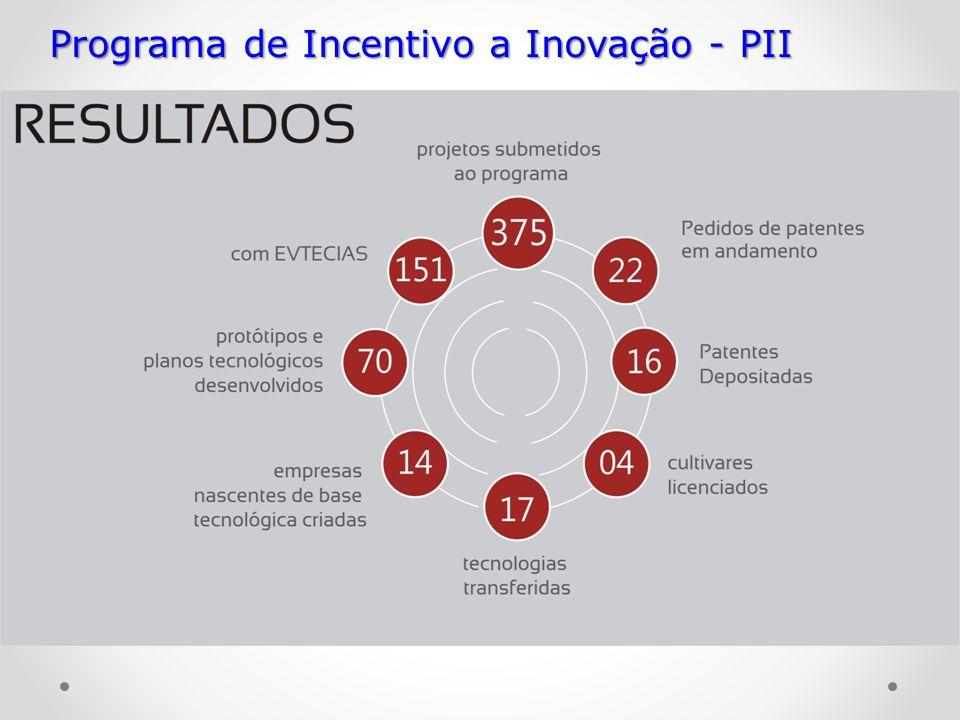 Programa de Incentivo a Inovação - PII