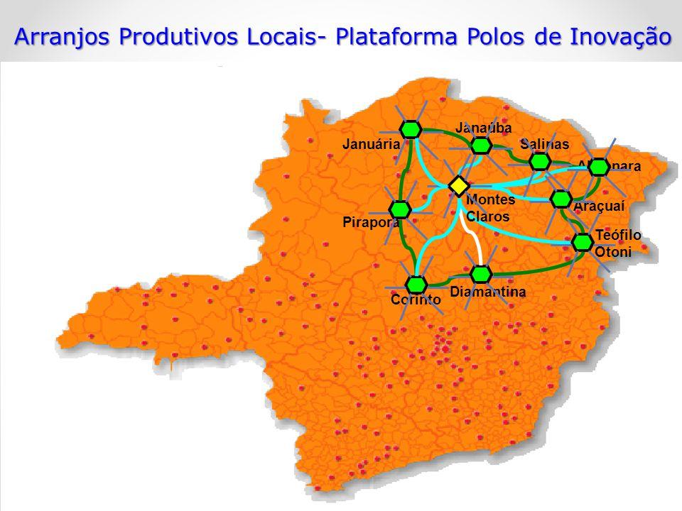 Arranjos Produtivos Locais- Plataforma Polos de Inovação