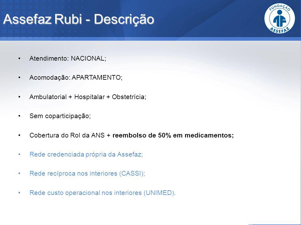 Assefaz Rubi - Descrição