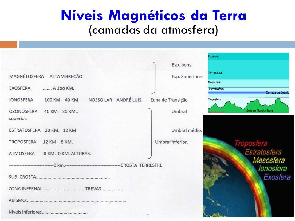 Níveis Magnéticos da Terra