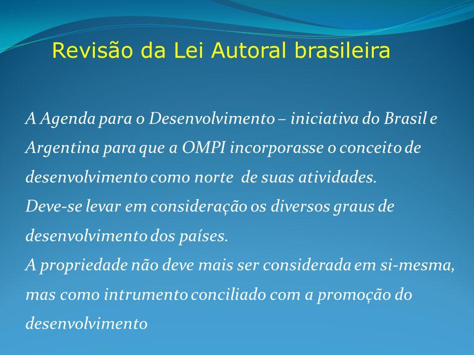 Revisão da Lei Autoral brasileira