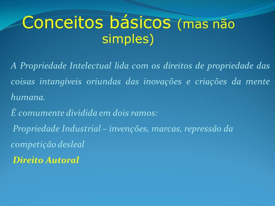Conceitos básicos (mas não simples)