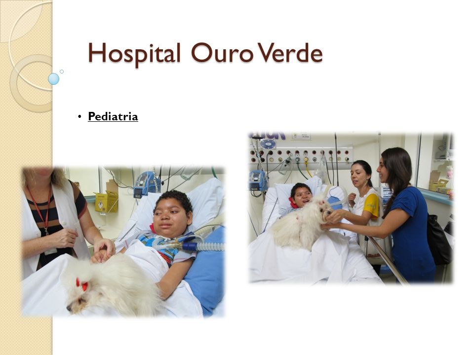 Hospital Ouro Verde Pediatria