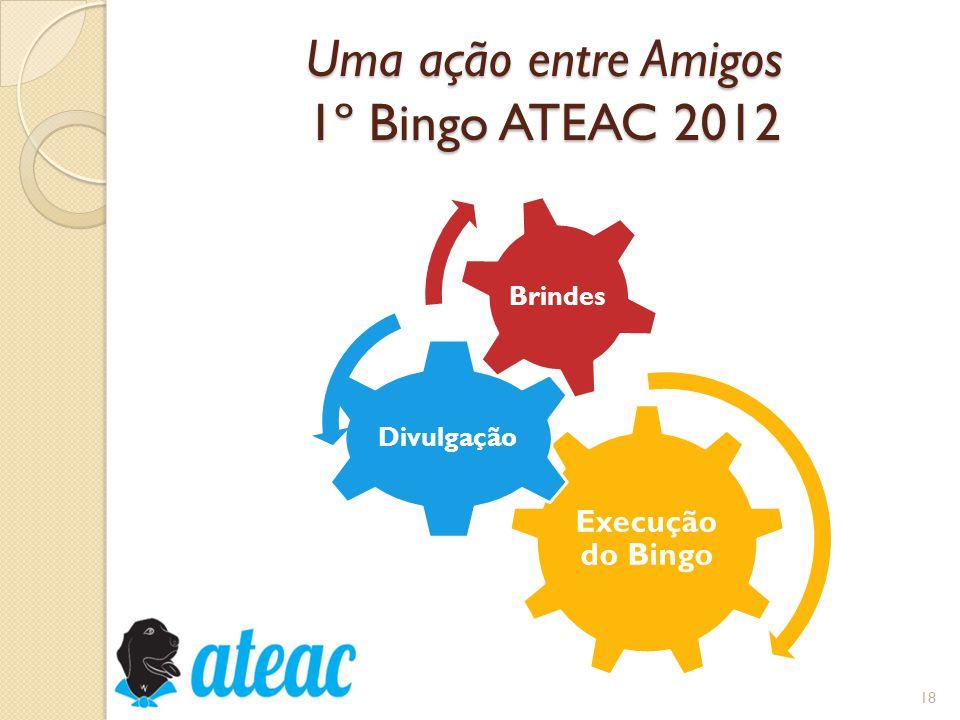 Uma ação entre Amigos 1º Bingo ATEAC 2012