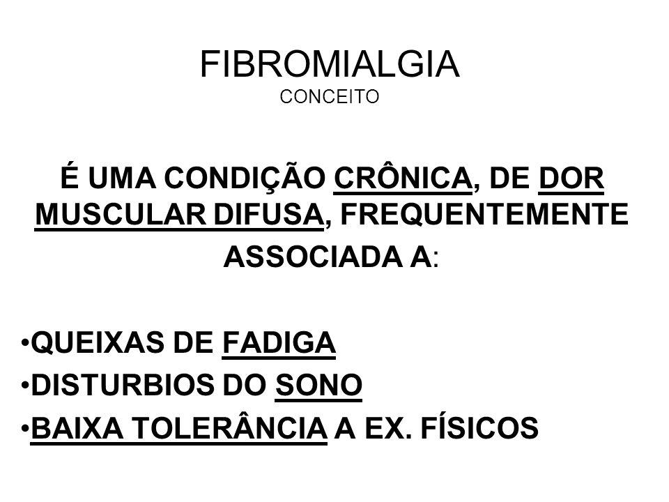 FIBROMIALGIA CONCEITO