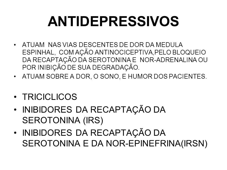 ANTIDEPRESSIVOS TRICICLICOS