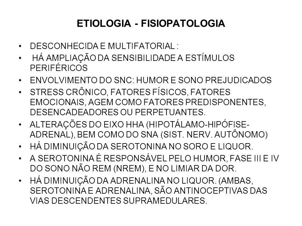 ETIOLOGIA - FISIOPATOLOGIA