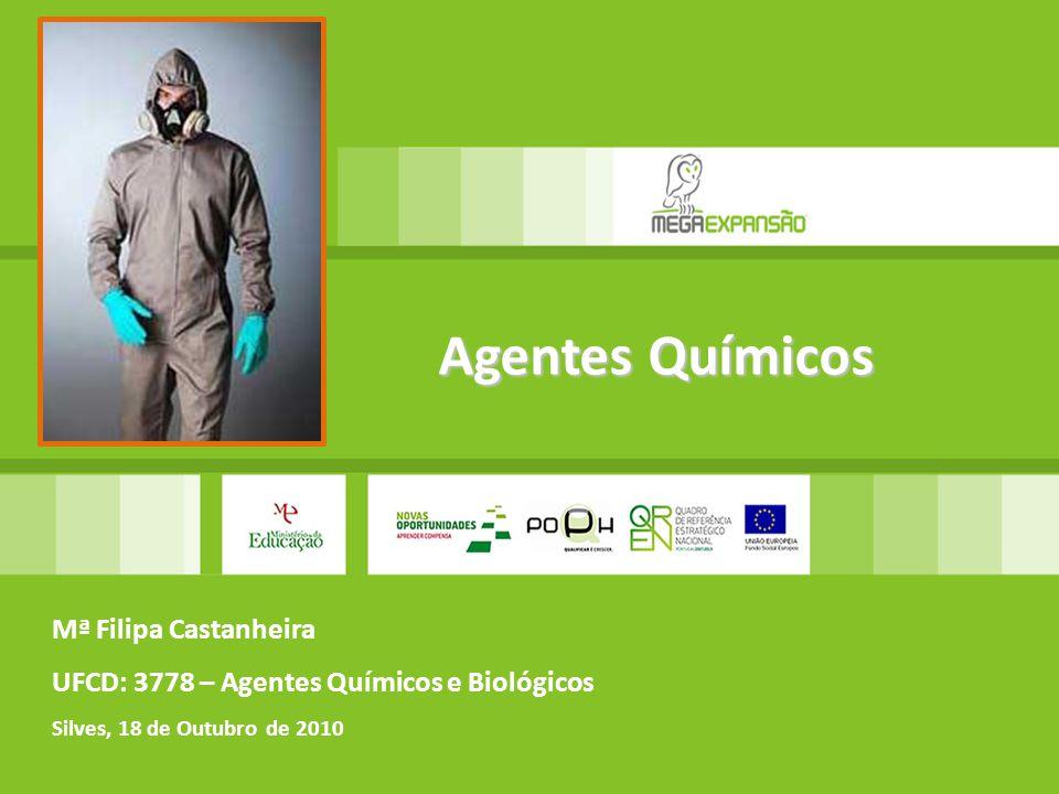 Agentes Químicos Mª Filipa Castanheira