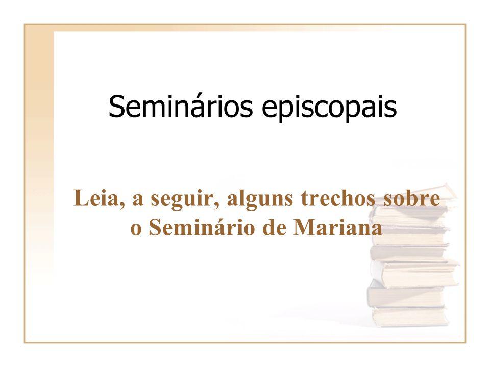 Seminários episcopais