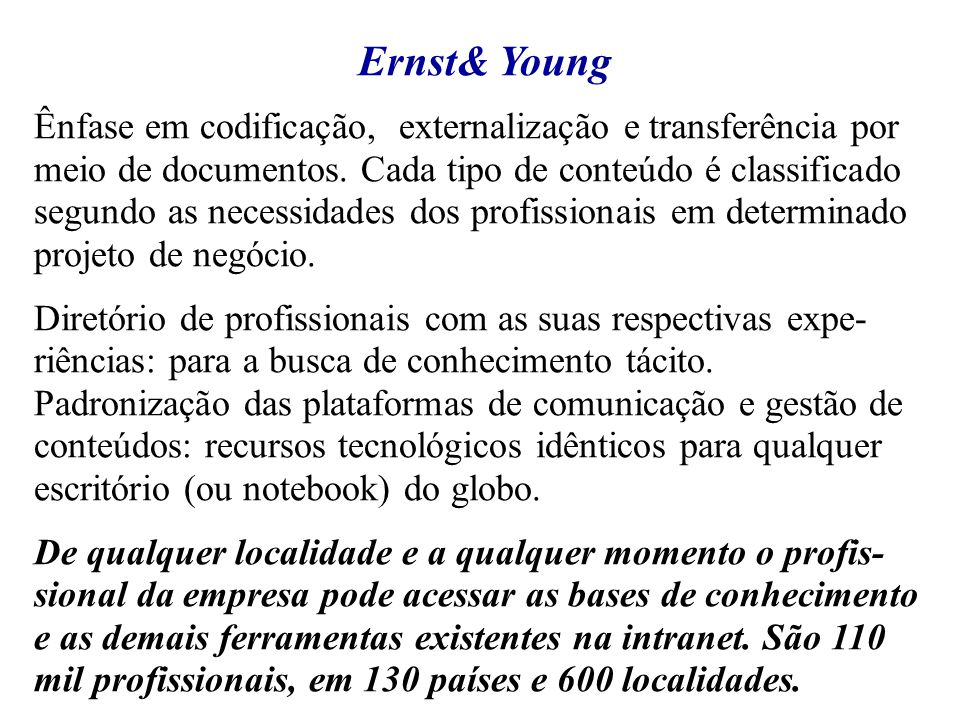Ernst& Young