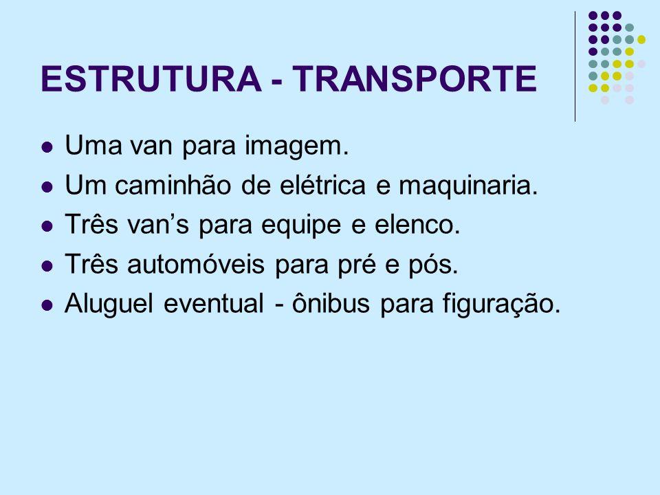 ESTRUTURA - TRANSPORTE