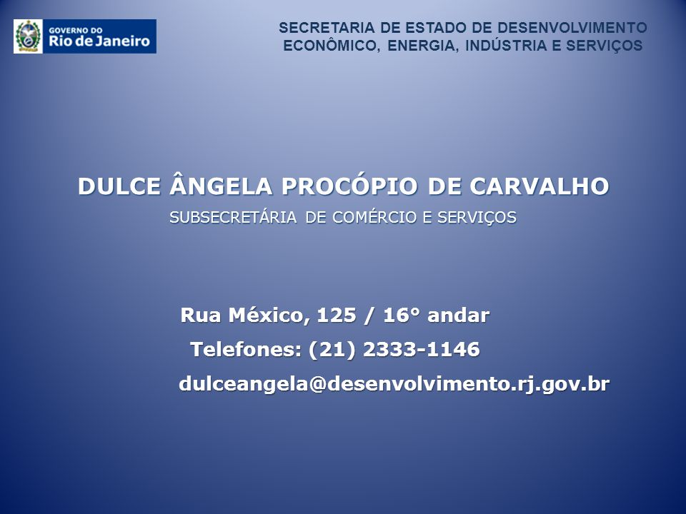 DULCE ÂNGELA PROCÓPIO DE CARVALHO