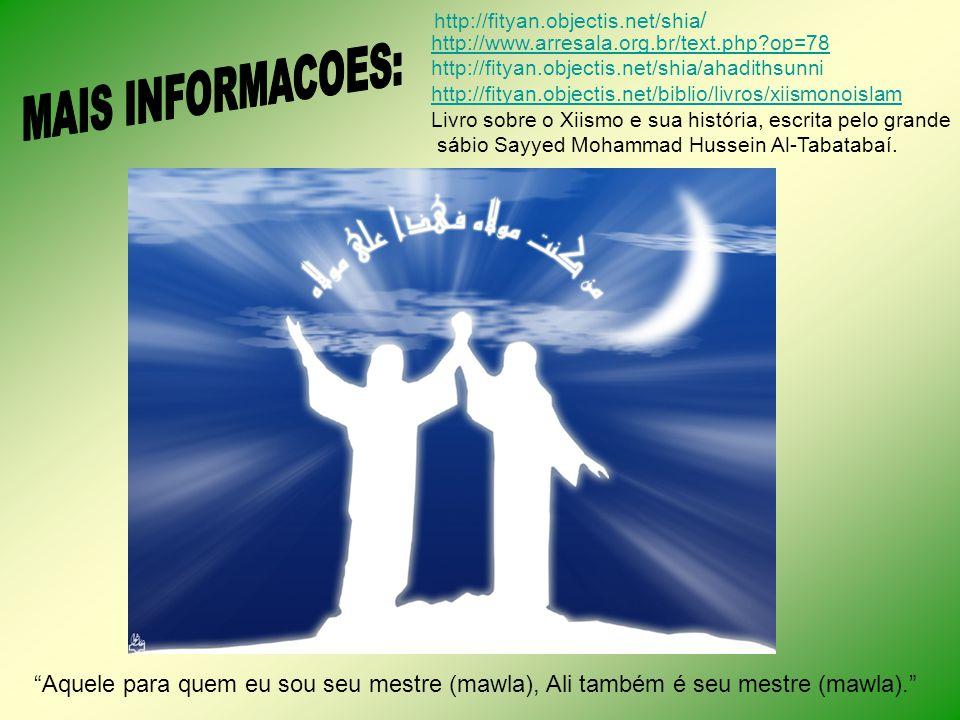 http://fityan.objectis.net/shia/ http://www.arresala.org.br/text.php op=78. http://fityan.objectis.net/shia/ahadithsunni.