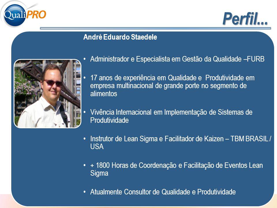 Perfil... André Eduardo Staedele