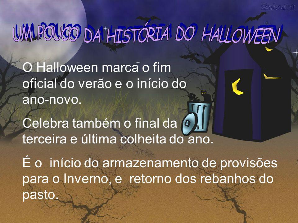 UM POUCO DA HISTÓRIA DO HALLOWEEN