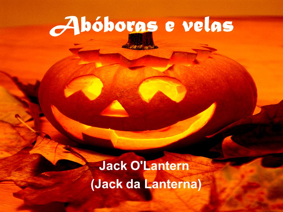Jack O Lantern (Jack da Lanterna)