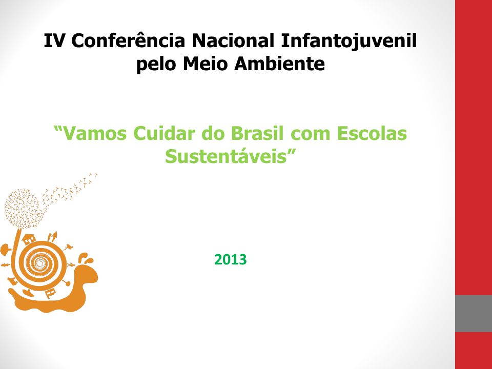 IV Conferência Nacional Infantojuvenil pelo Meio Ambiente