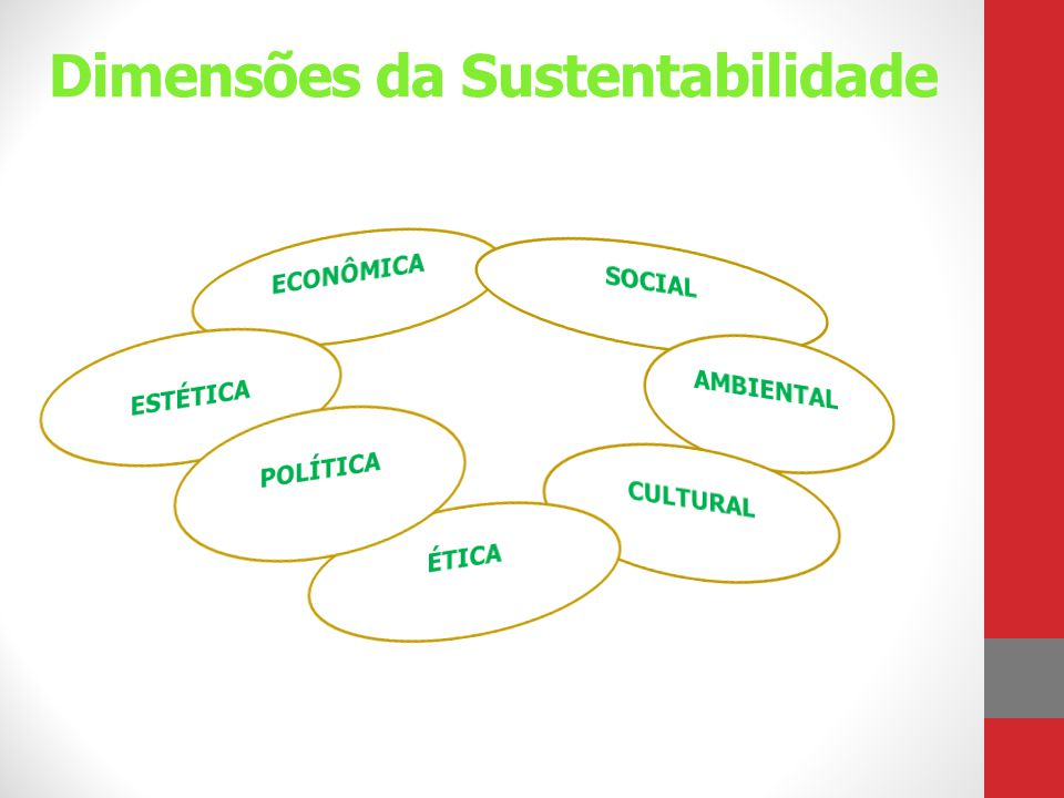 Dimensões da Sustentabilidade