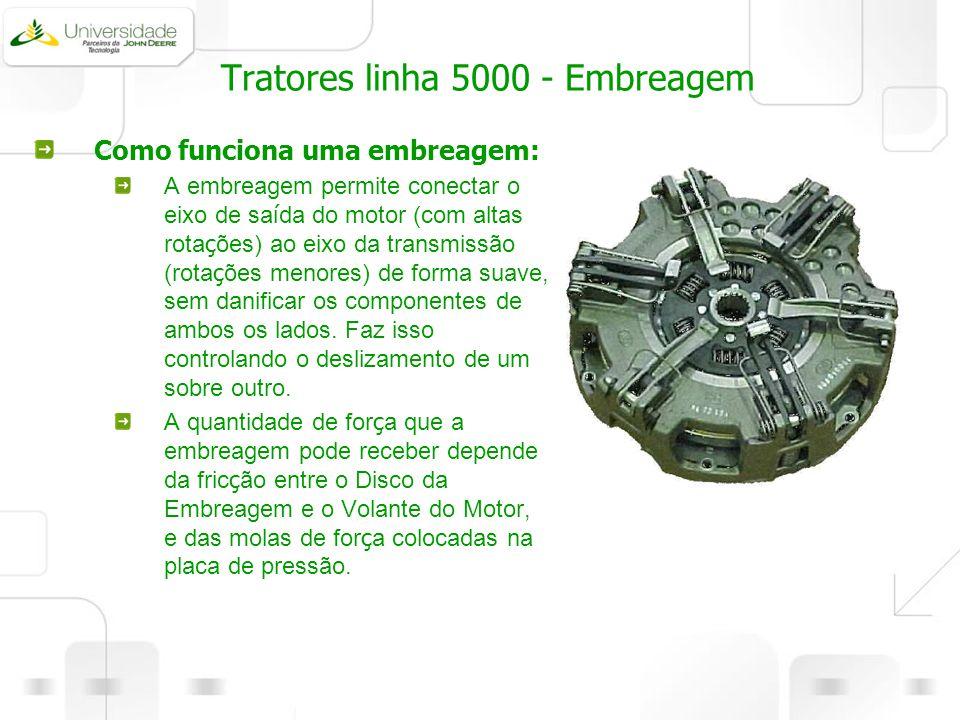 Tratores linha 5000 - Embreagem