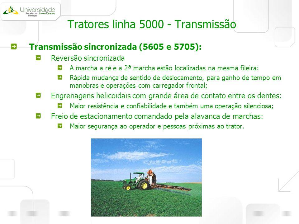 Tratores linha 5000 - Transmissão