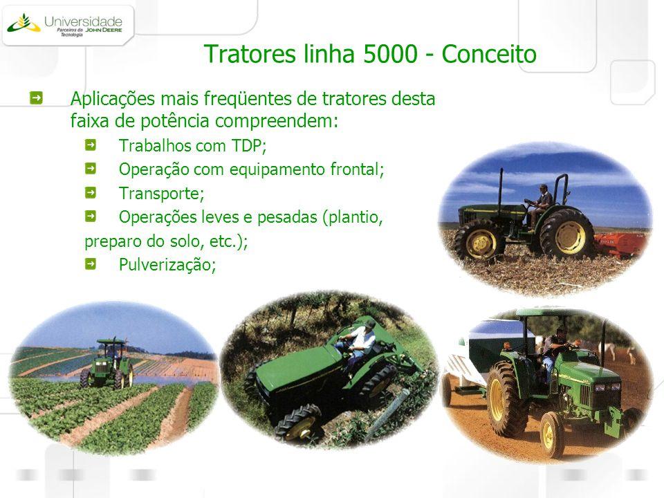 Tratores linha 5000 - Conceito