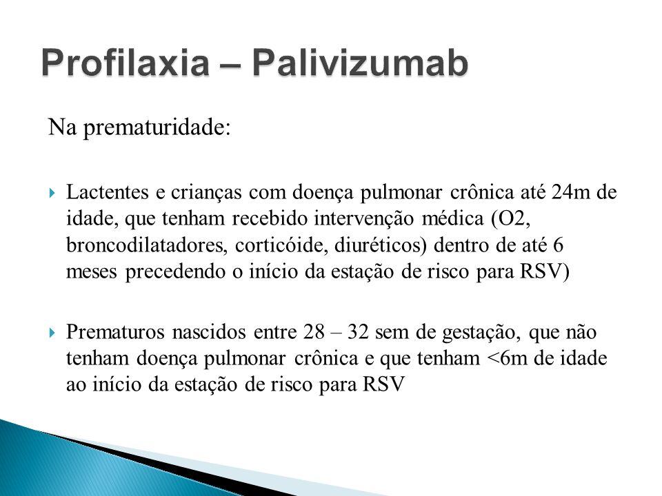 Profilaxia – Palivizumab