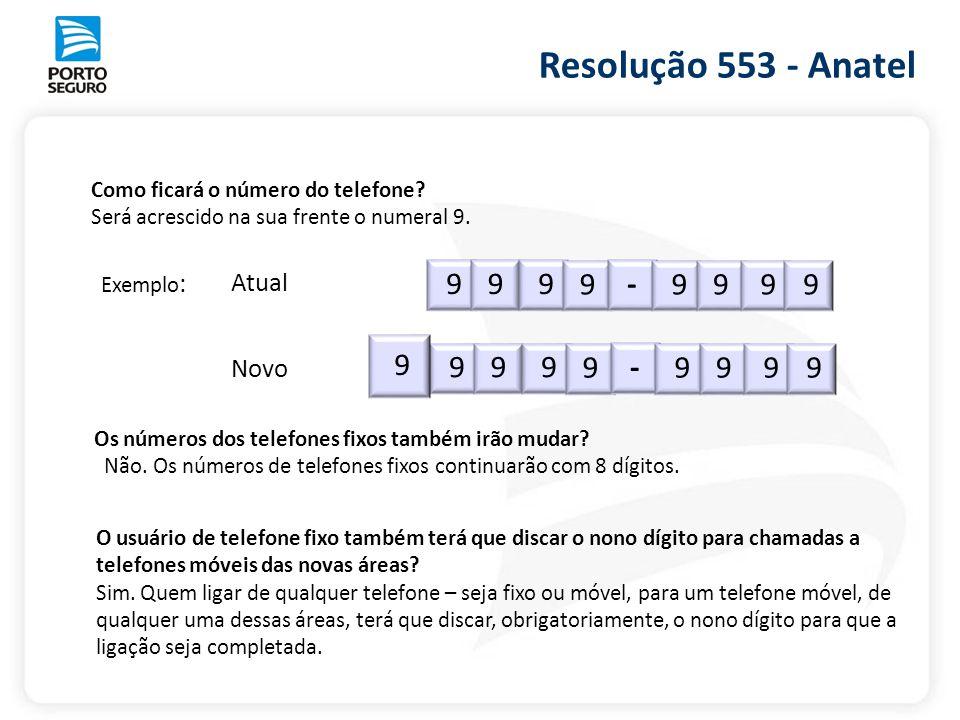 Resolução 553 - Anatel 9 - 9 9 - Atual Novo