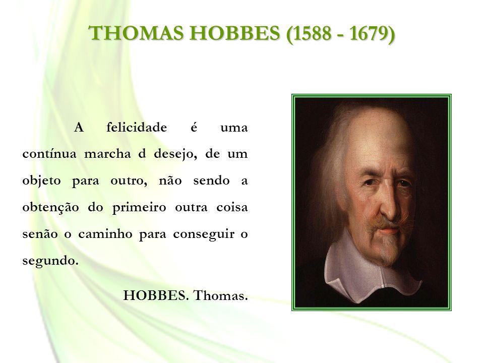 THOMAS HOBBES (1588 - 1679)