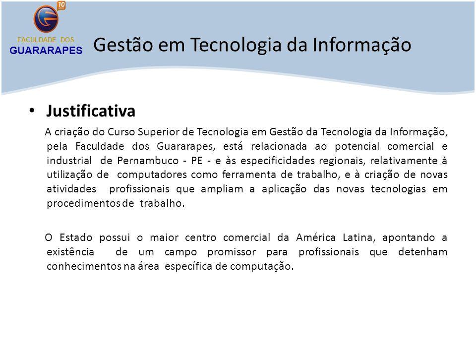 Gestão em Tecnologia da Informação