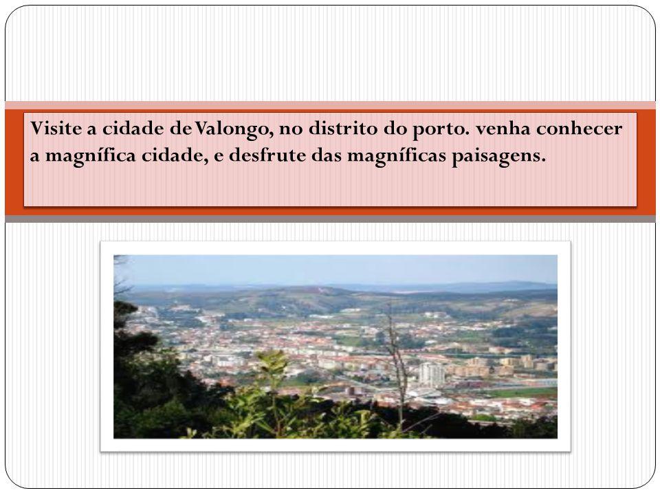 Visite a cidade de Valongo, no distrito do porto