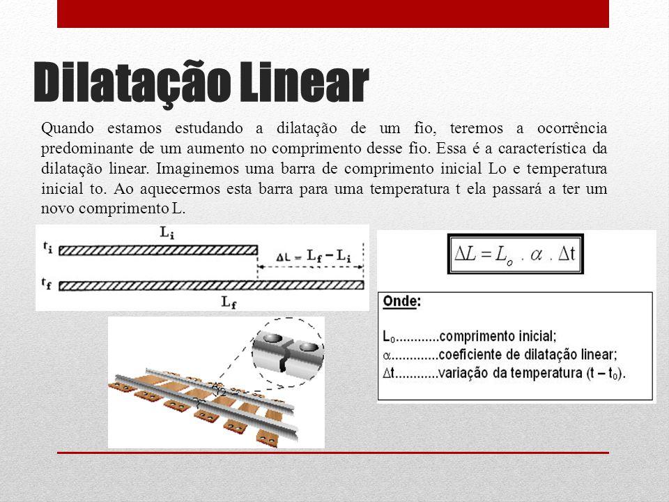 Dilatação Linear