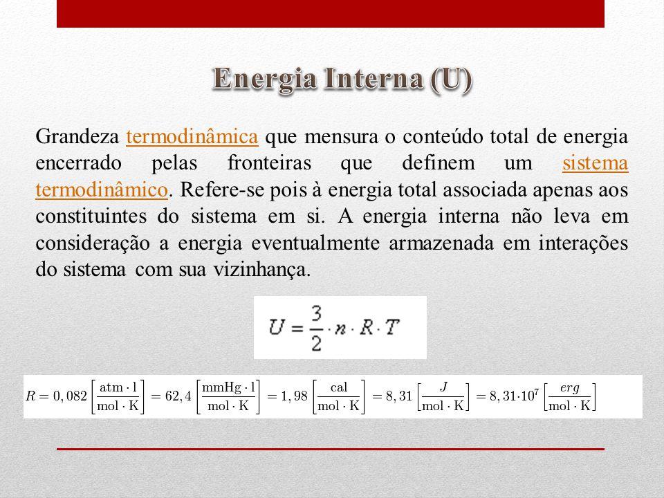 Energia Interna (U)