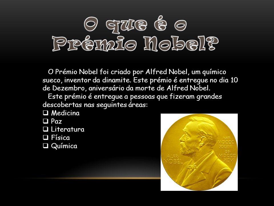 O que é o Prémio Nobel