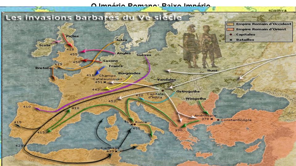 O Império Romano: Baixo Império
