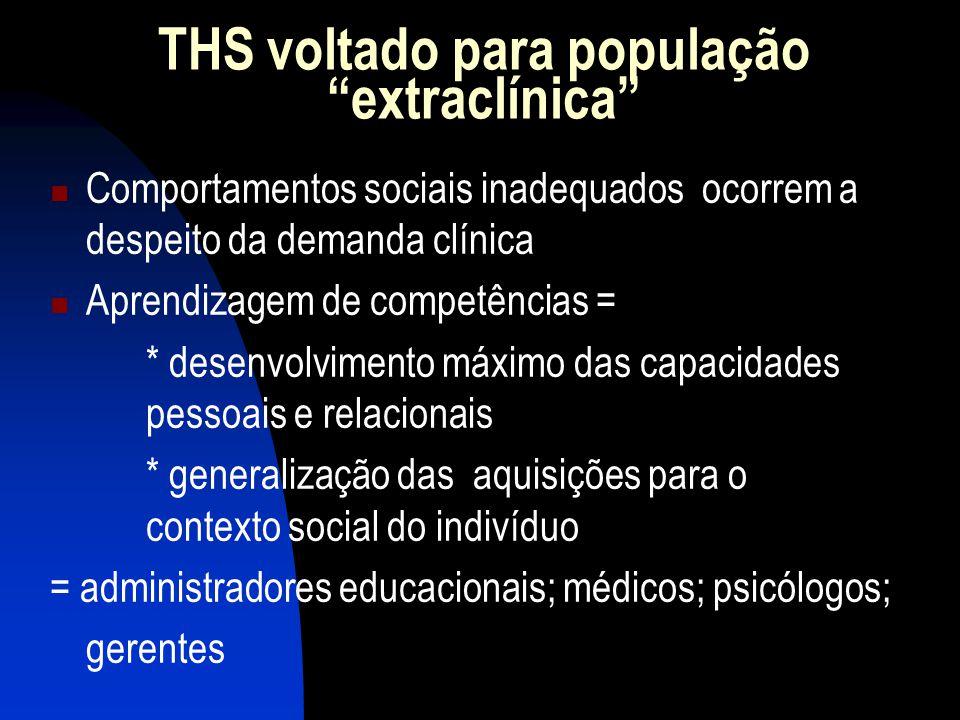 THS voltado para população extraclínica