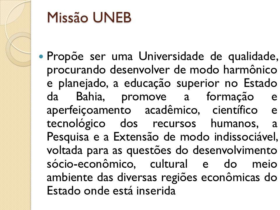 Missão UNEB