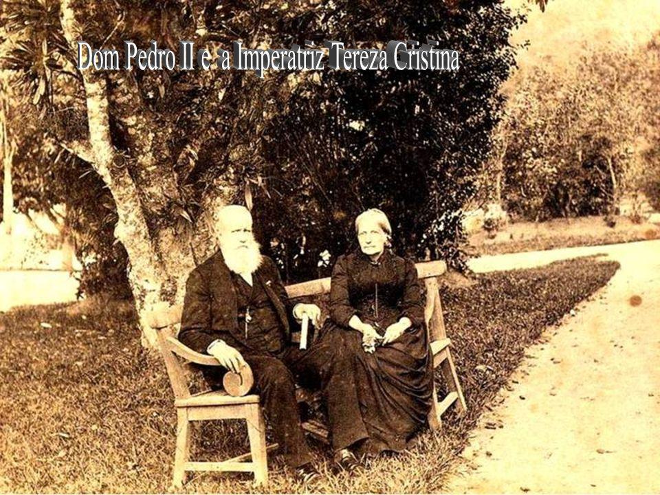 Dom Pedro II e a Imperatriz Tereza Cristina