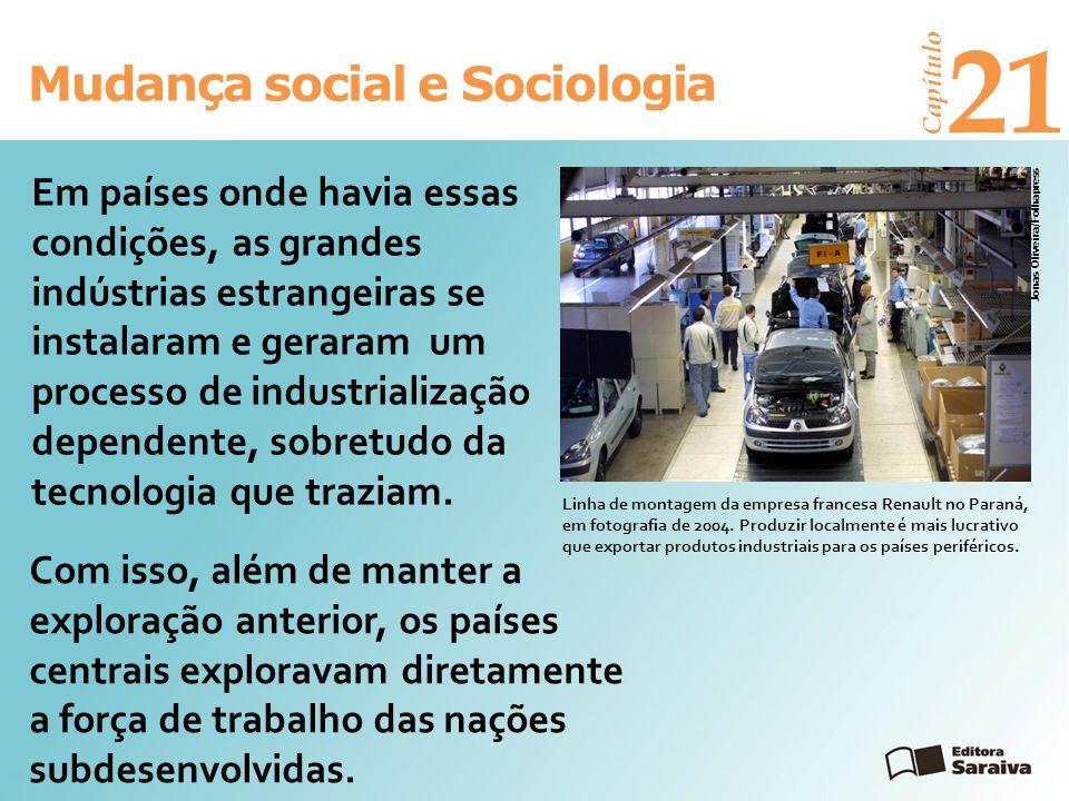 21 Mudança social e Sociologia