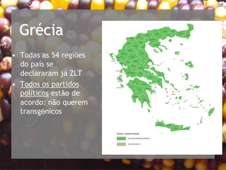 Grécia Todas as 54 regiões do país se declararam já ZLT
