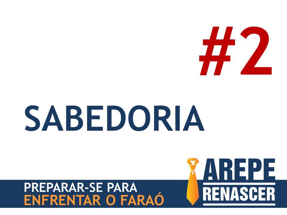 #2 SABEDORIA PREPARAR-SE PARA ENFRENTAR O FARAÓ