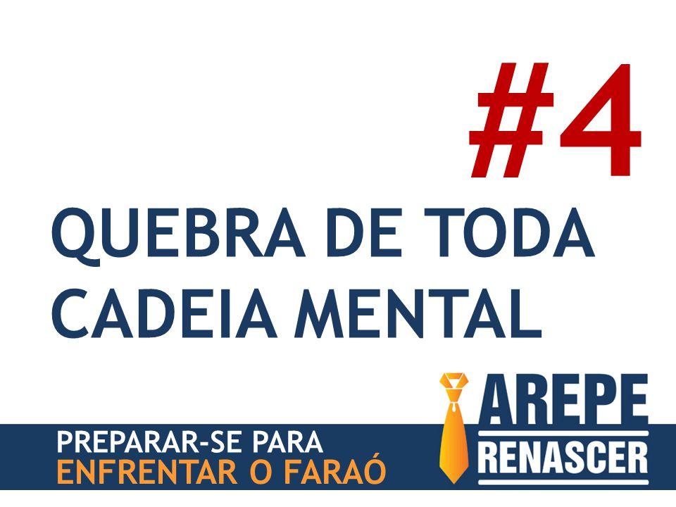 #4 QUEBRA DE TODA CADEIA MENTAL PREPARAR-SE PARA ENFRENTAR O FARAÓ