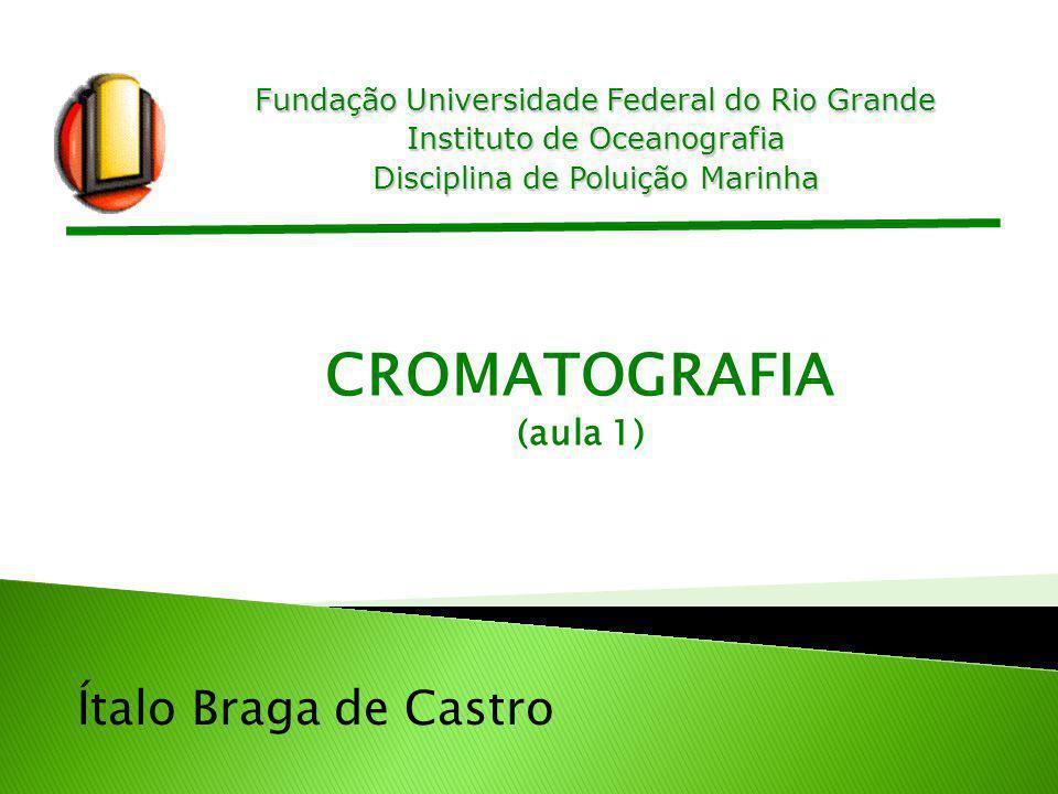 CROMATOGRAFIA Ítalo Braga de Castro (aula 1)